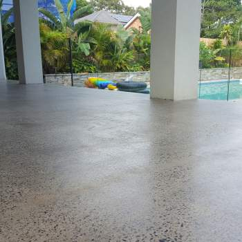 Honed Concrete